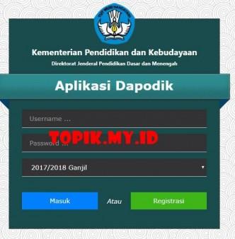 aplikasi dapodik
