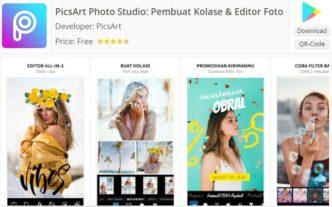 aplikasi editing foto dengan PicsArt