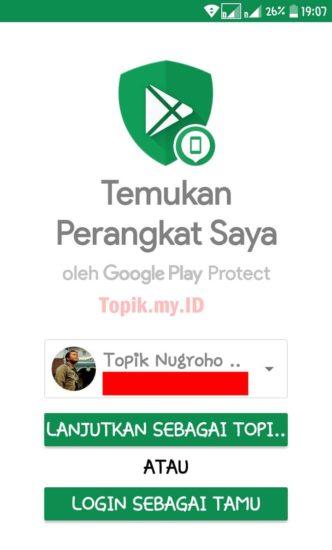 lacak hp dengan apps